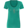 Icebreaker Tech Lite Lancewood t-shirt Dames blauw